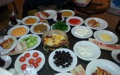 Çınar kahvaltı salonu